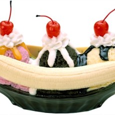 Banana Split Sunday